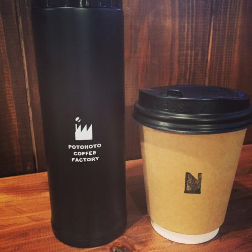 POTOHOTO COFFEE FACTORYのタンブラー