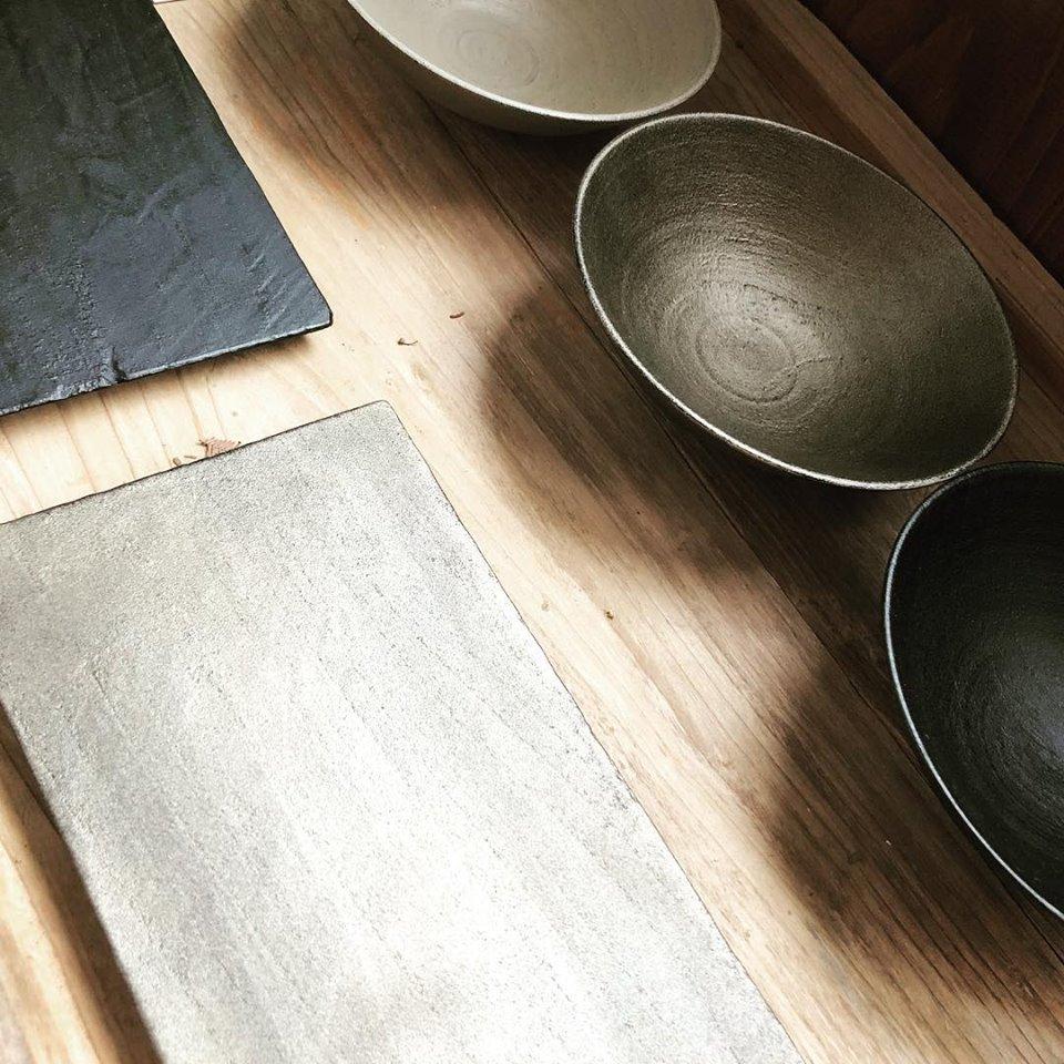 木漆工とけしの器