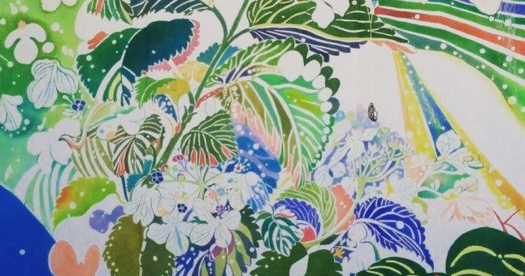 12/22(金)〜24(日) 勝野久美子 型染め展「緑のすみか」(終了しました)