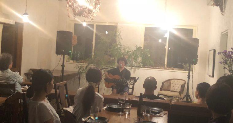 「夜コントVOL.17」青柳拓次ライブ
